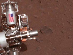 The cuff on rover Spirit (NASA)