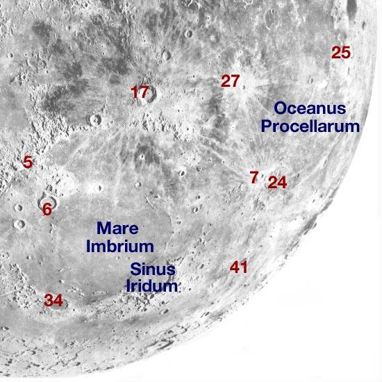 Moon northwest inverted