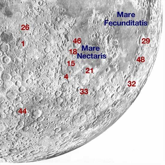 Moon southeast