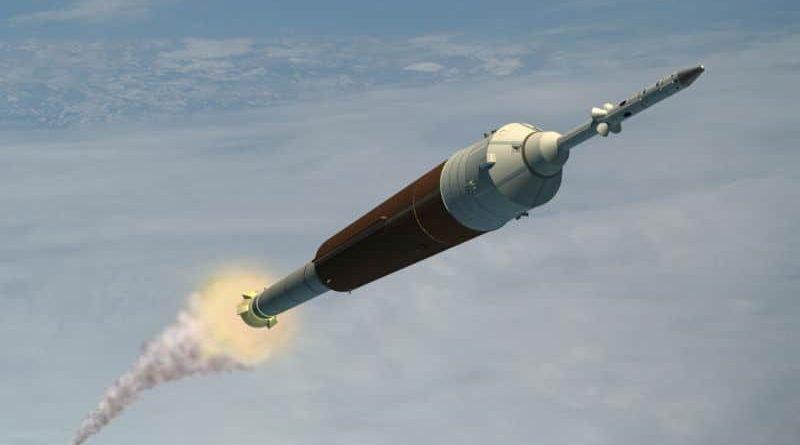 Orion in flight