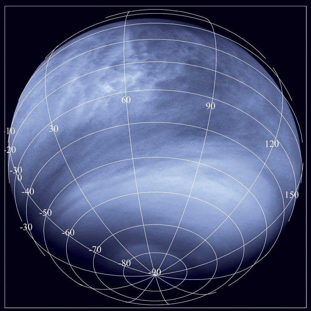 spot on Venus