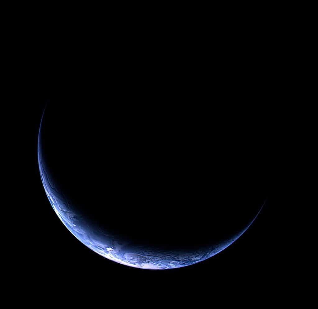 Earth from Rosetta