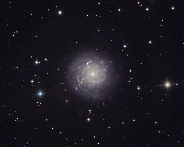 NGC1058 – a spiral galaxy in Perseus