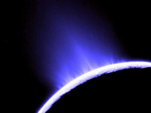 Geyser on Enceladus