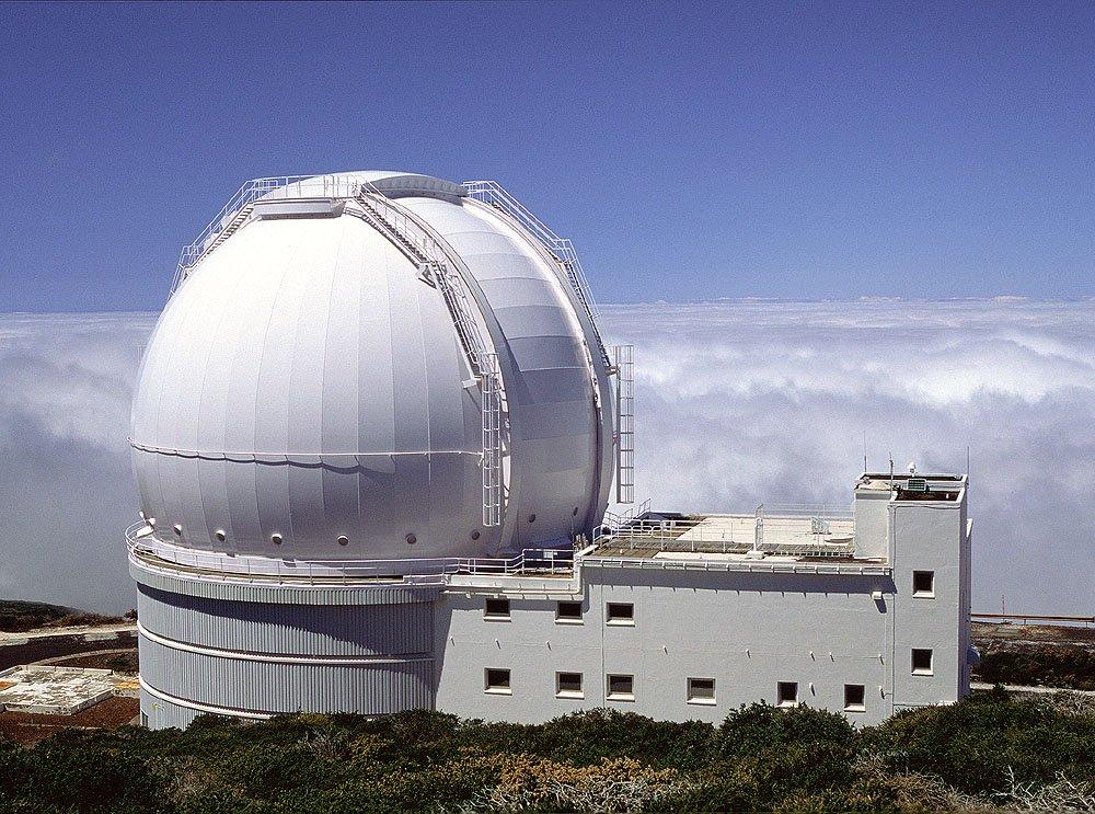 William Herschel Telescope on La Palma