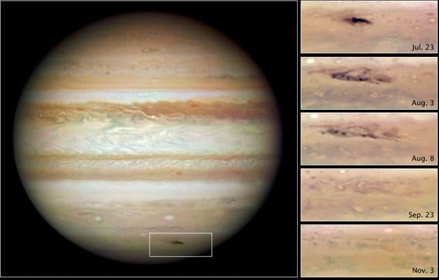 Impact on Jupiter