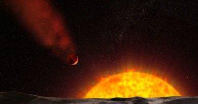 Impression of the superhot planet (NASA/ESA)