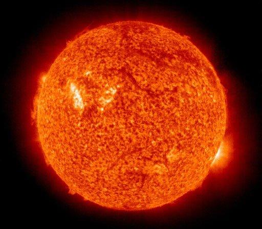 solar activity from SoHo observatory