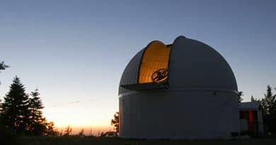Observatory on Mount Lemmon, Arizona