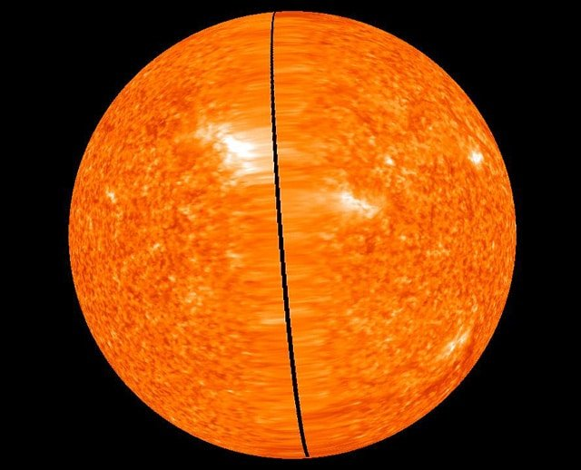 Image of the Sun from STEREO