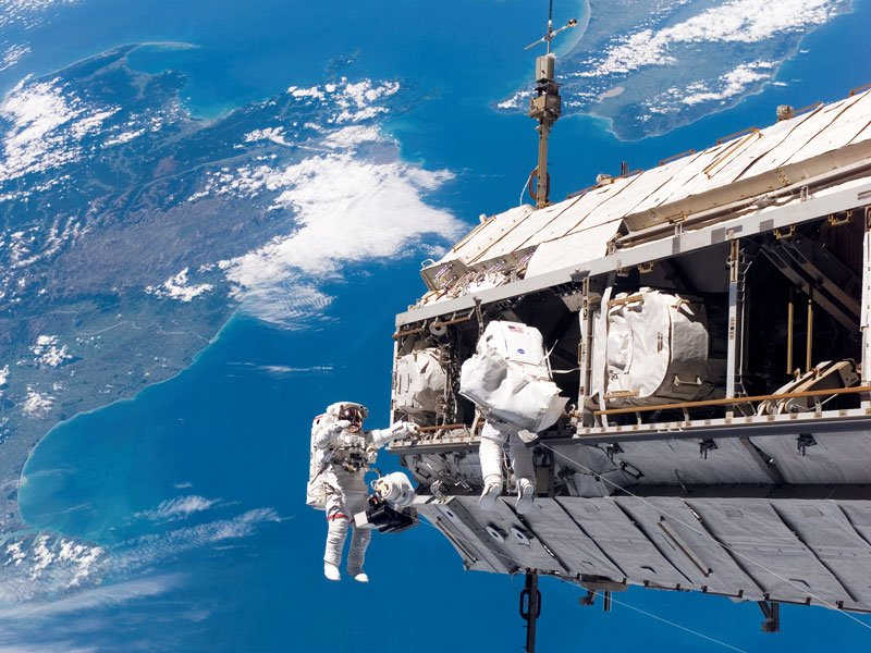 Spectacular view of International Space Station over New Zealand