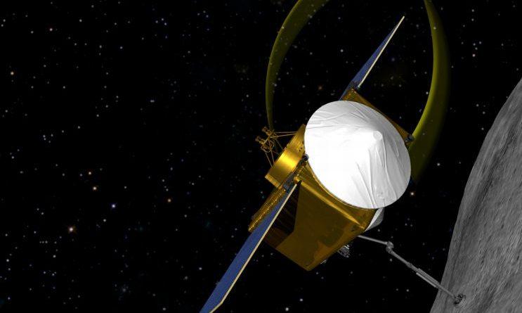 Osiris-Rex plucks sample from the asteroid