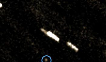 Asteroid 2011 MD imaged by Peter Birtwhistle