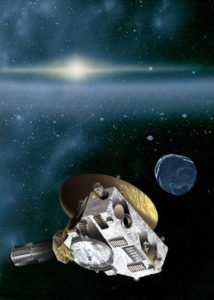 An impression of New Horizons' encounter with a KBO