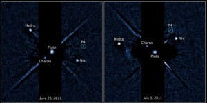 Hubble spots fourth moon around Pluto