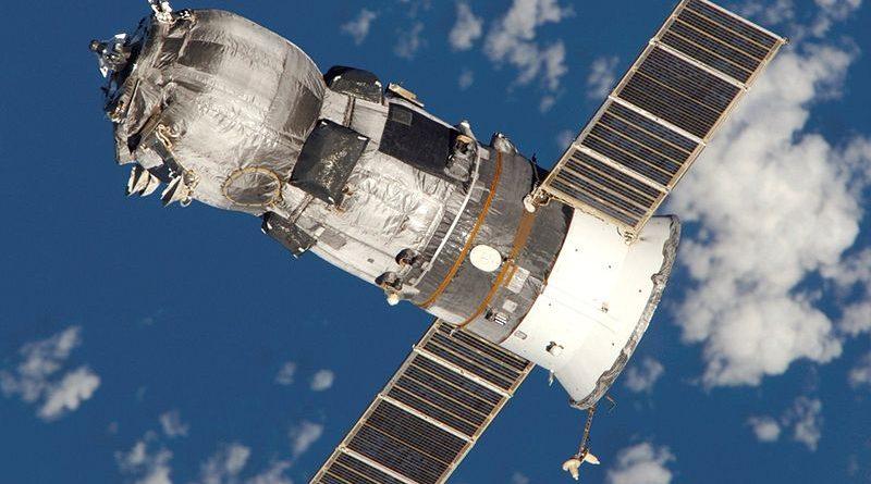 A Progress spacecraft in orbit (NASA)