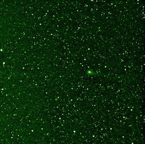Comet Elenin on August 6 from NASA's Stereo-B spacecraft (NASA)