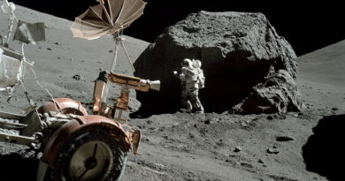 Apollo astronaut Schmitt explores the Moon