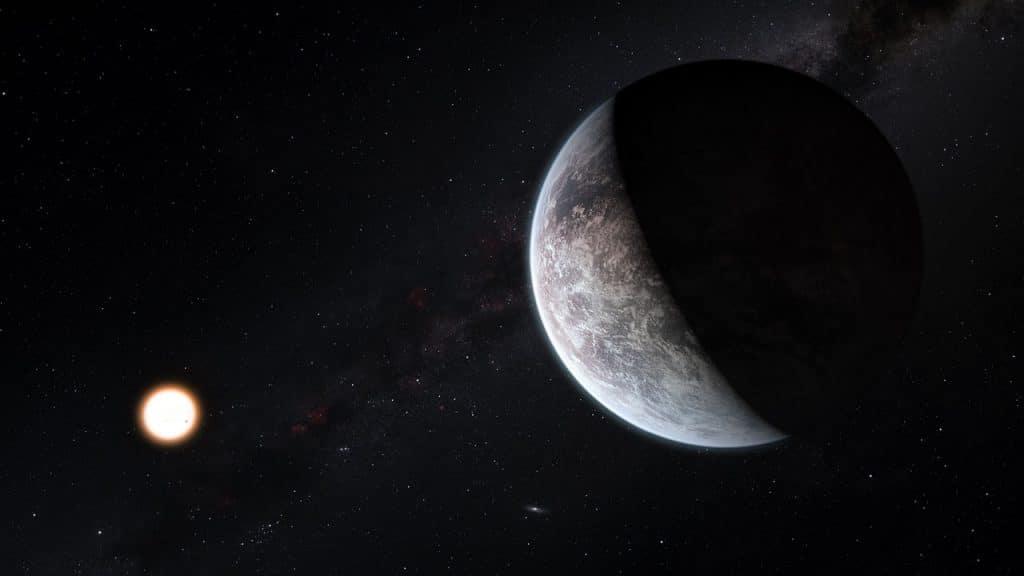 Artist's impression of the new super Earth