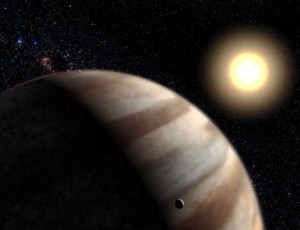 Impression of a giant planet