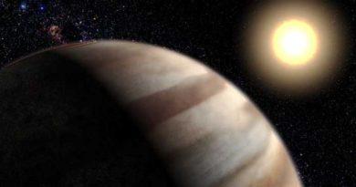 Impression of a hot Jupiter