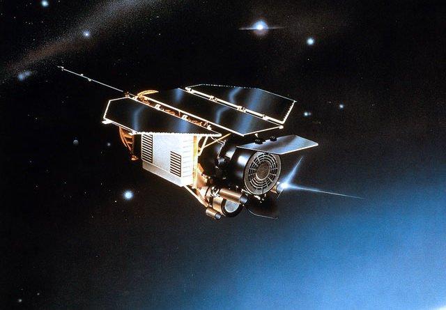 How ROSAT looked in orbit