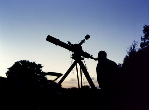 First look through a new telescope!