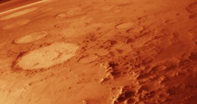 Mars including its thin atmosphere
