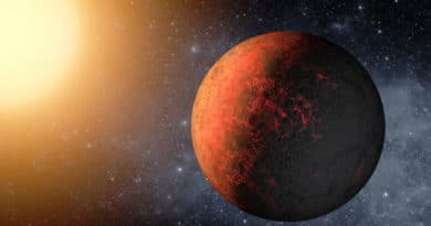 An artist's impression of the planet