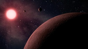 An artist's impression of a new planetary system. Credit: NASA/JPL-Caltech