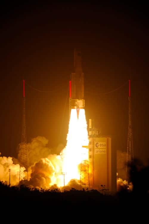 Edoardo Amaldi soars into space