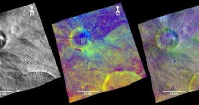 New view of Vesta from Dawn