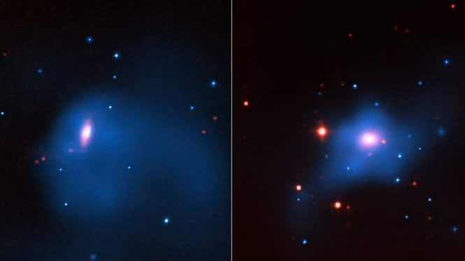 Galaxies with black holes
