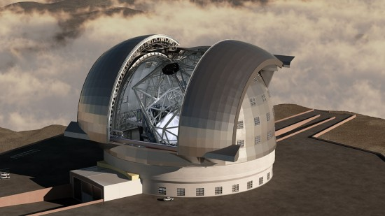Monster telescope gets the go ahead