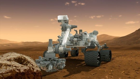 How Curiosity will look as it explores Mars