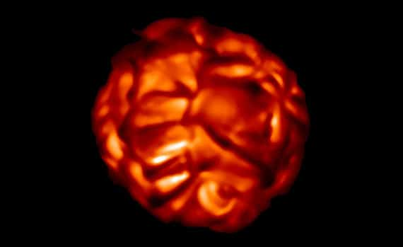 Bubbling Betelgeuse On Brink Of Destruction