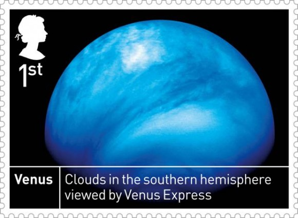 Space stamps: Venus stamp
