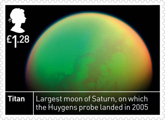 Space stamps: Titan stamp