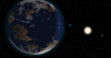 An artist's impression of super-Earth HD40307g