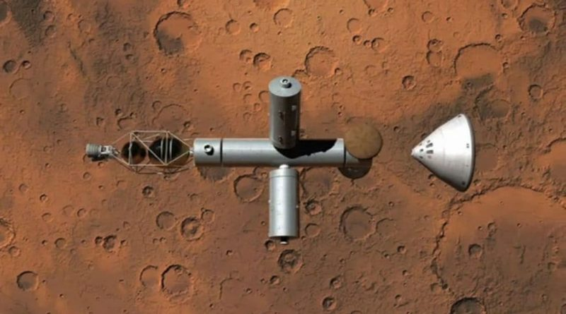 Project Troy spacecraft arrive at Mars