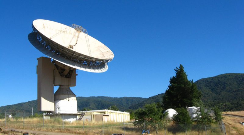 The Jamesburg dish in California that is now messaging the stars.