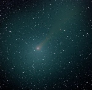 Comet may deliver firework show