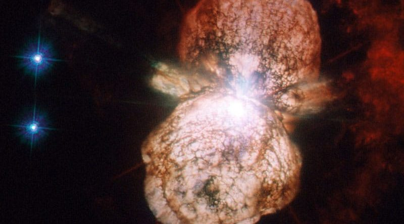 Eta Carinae's shell