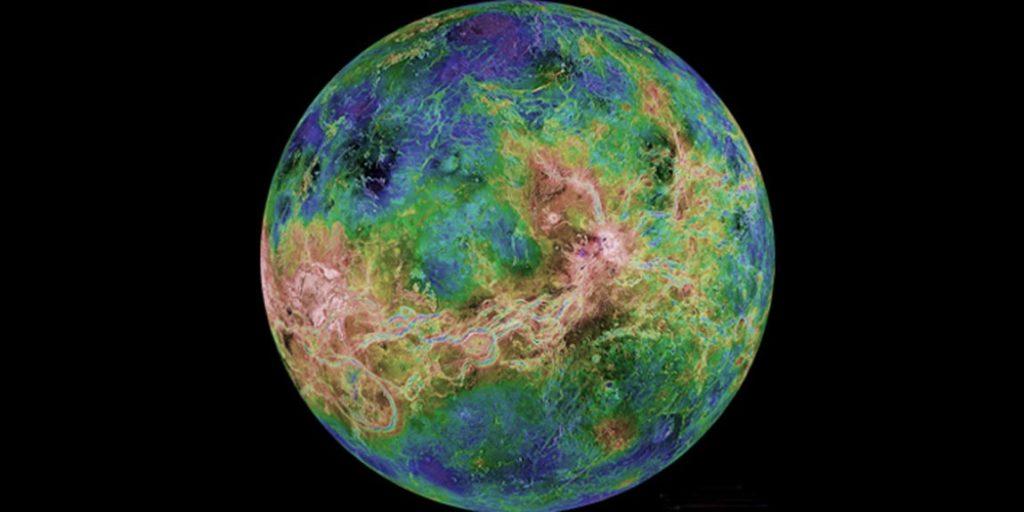 Venus from Magellan