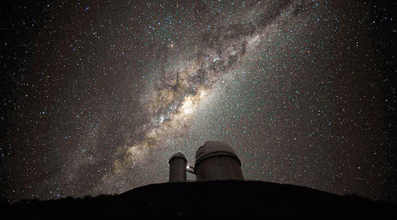 Milky Way over La Silla