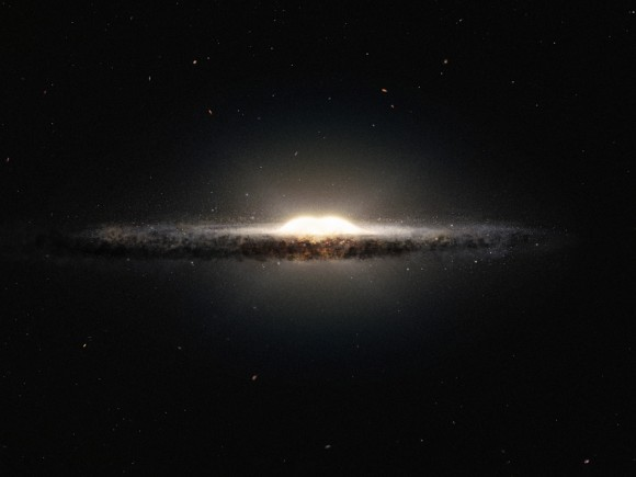 Galaxy's central bulge