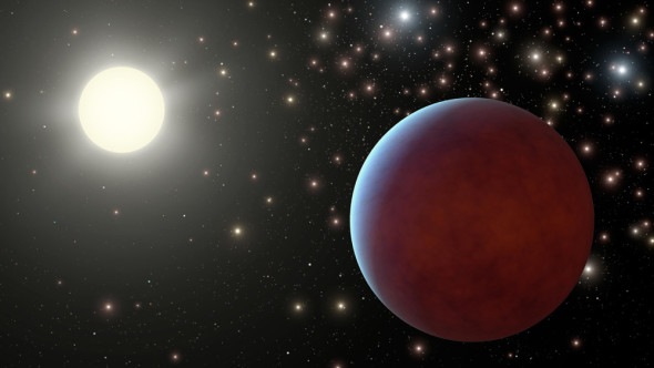 An artist's impression of a gas giant planet like the one discovered by citizen scientists. Credit: NASA/JPL-Caltech