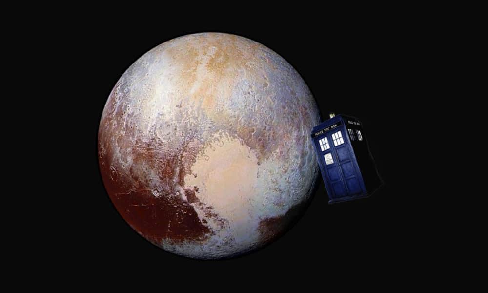 Pluto and Tardis