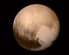 The best yet NASA photo of Pluto from New Horizons, taken on July 7, 2015. Image credit: NASA-JHUAPL-SWRI.