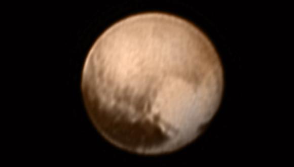The best yet NASA photo of Pluto from New Horizons,.